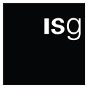 Logo of ISG current customer of Manchester Photographer Corporate construction photography Leeds, Liverpool, Sheffield, Birmingham UK