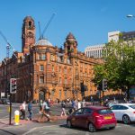 Photography of London Road Fire Station building piccadilly by Manchester Photographer