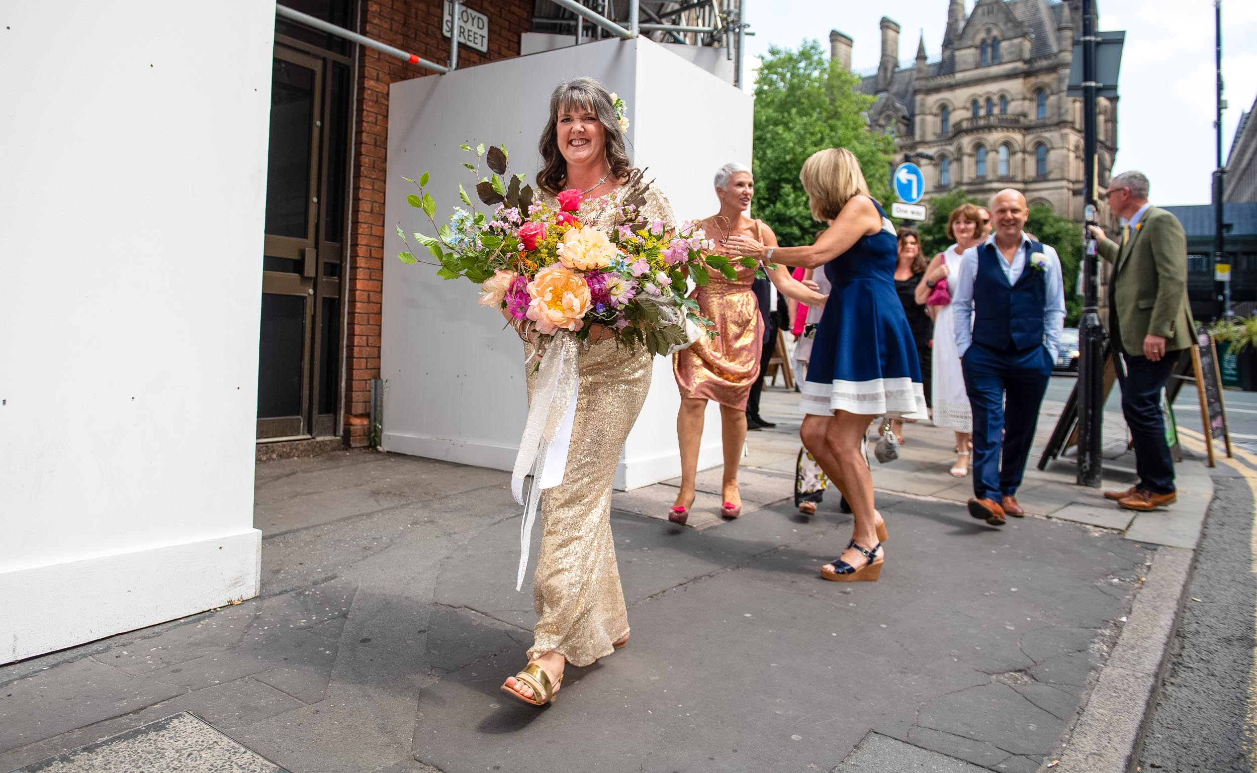 Manchester Wedding Photography at Town Hall City Centre Photographer