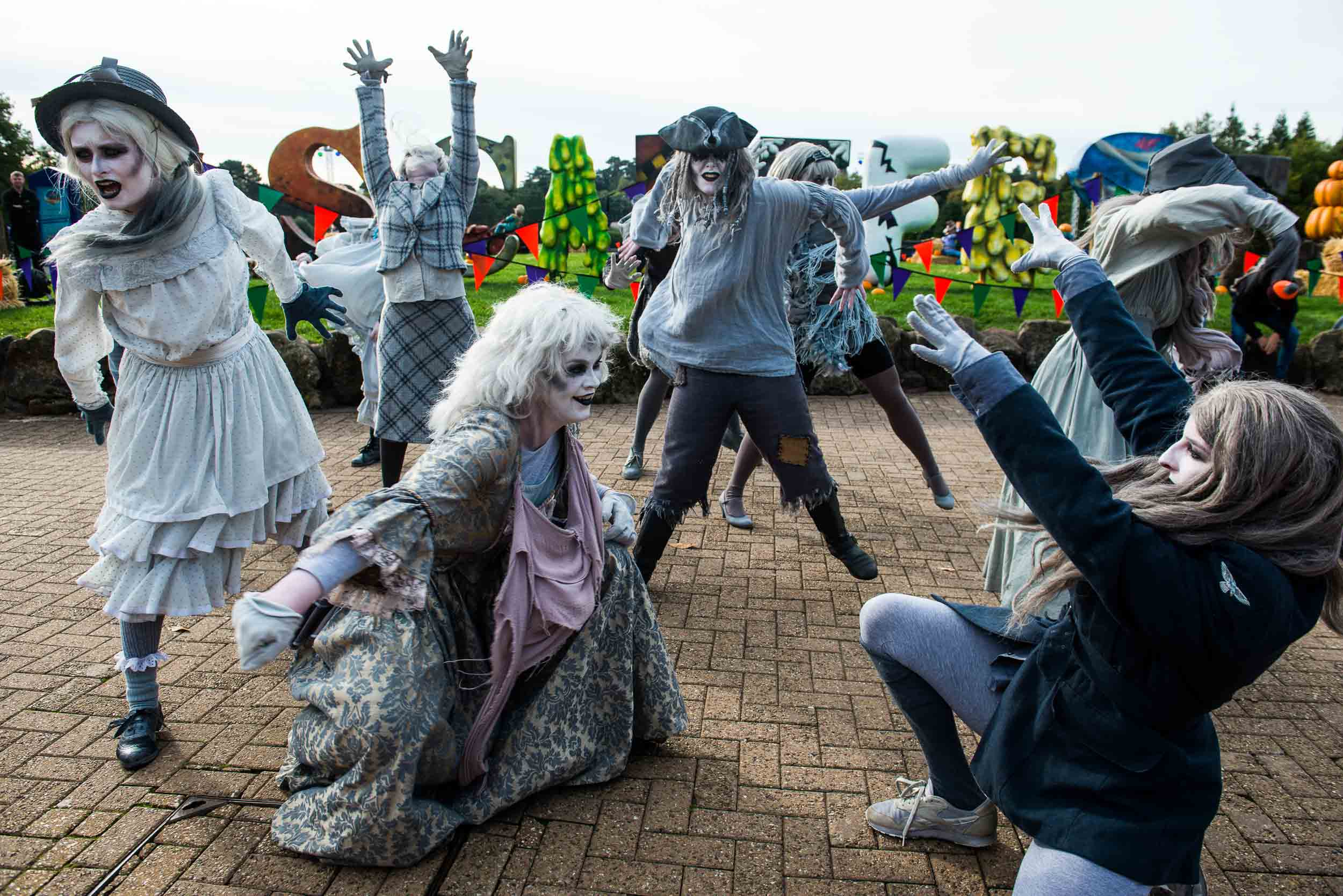 Alton Towers Scarefest Photography by ManchesterPhotographer.com