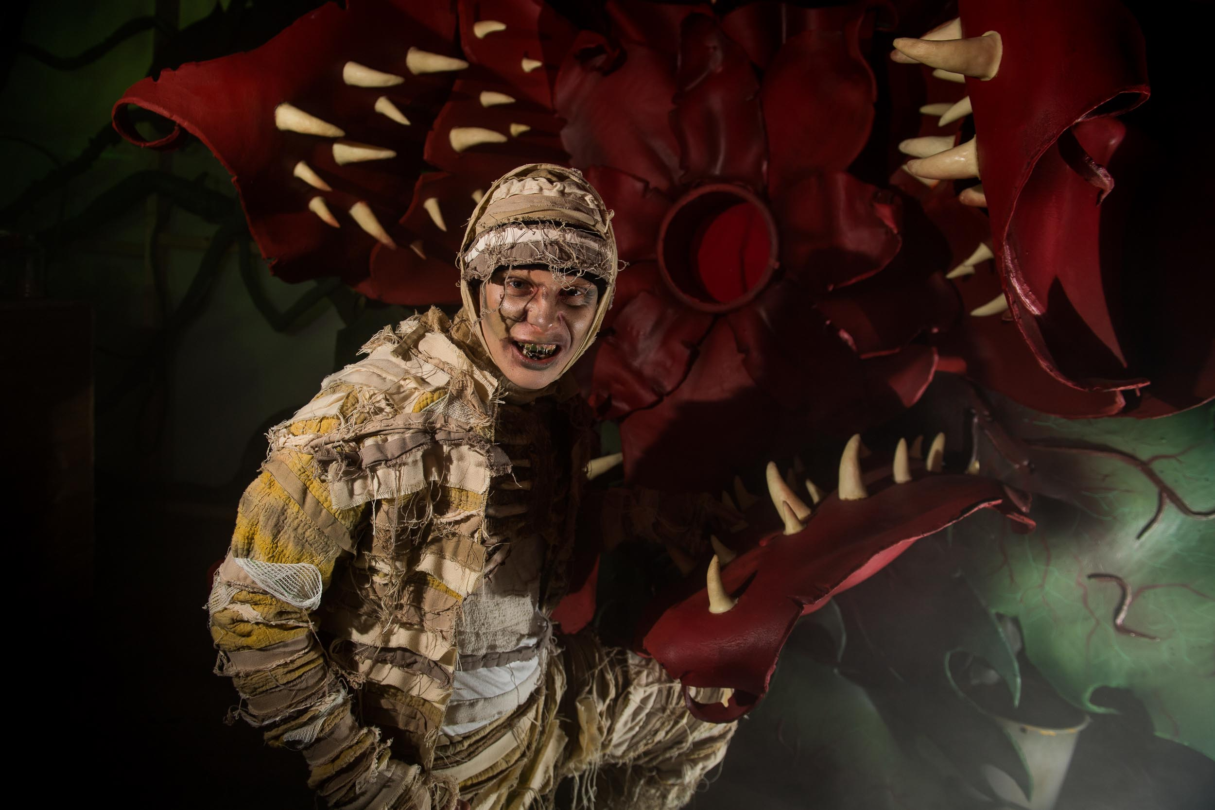 Event Photography at Alton Towers Scarefest Halloween by Manchester Photographer