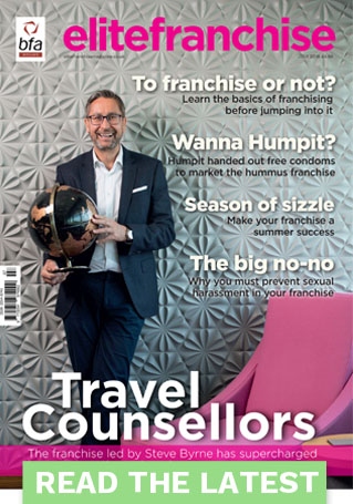 Travel Counsellors business front cover EliteFranchise Magazine Manchester Photography