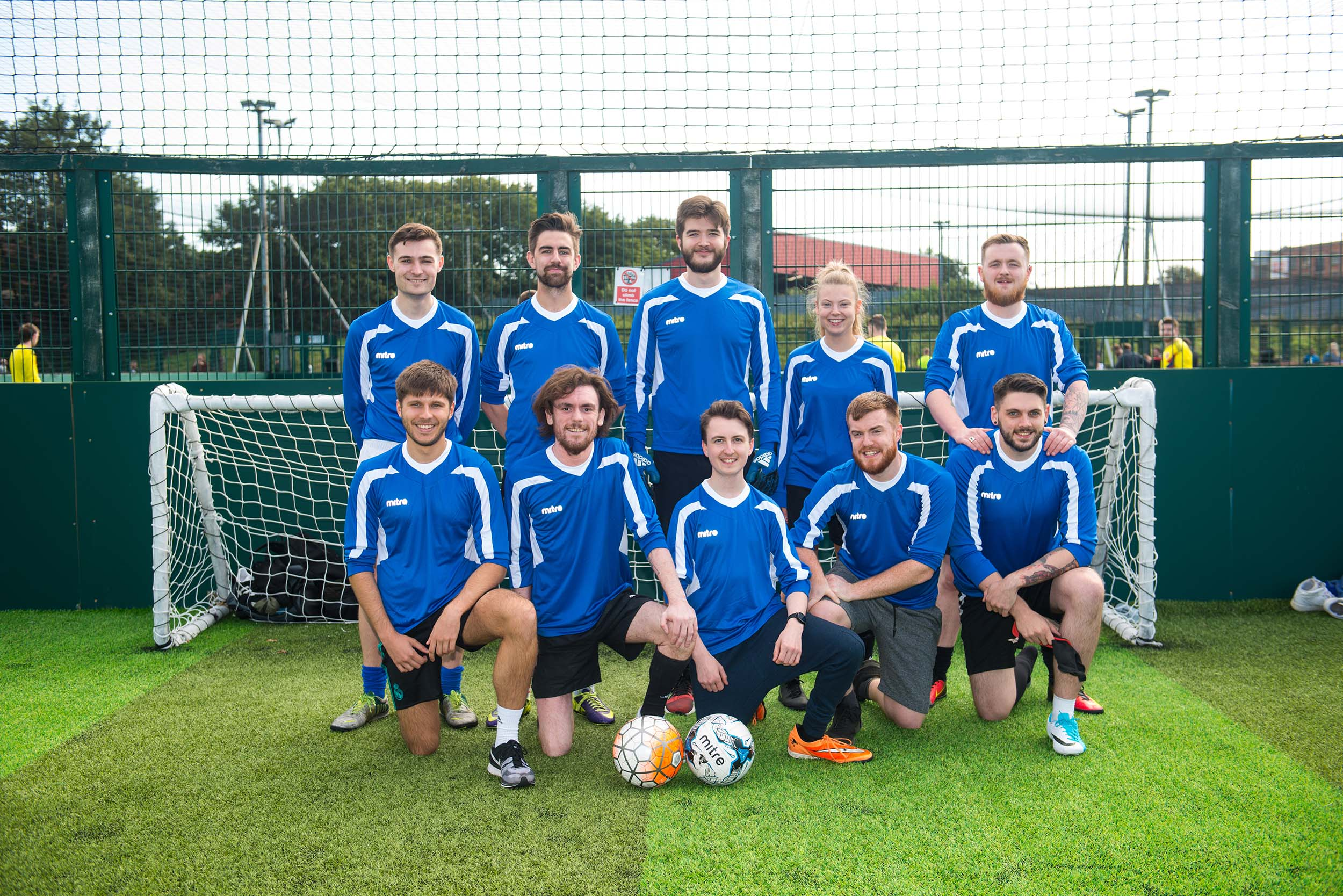 Wetherspoons staff power league football Ardwick corporate photography Manchester