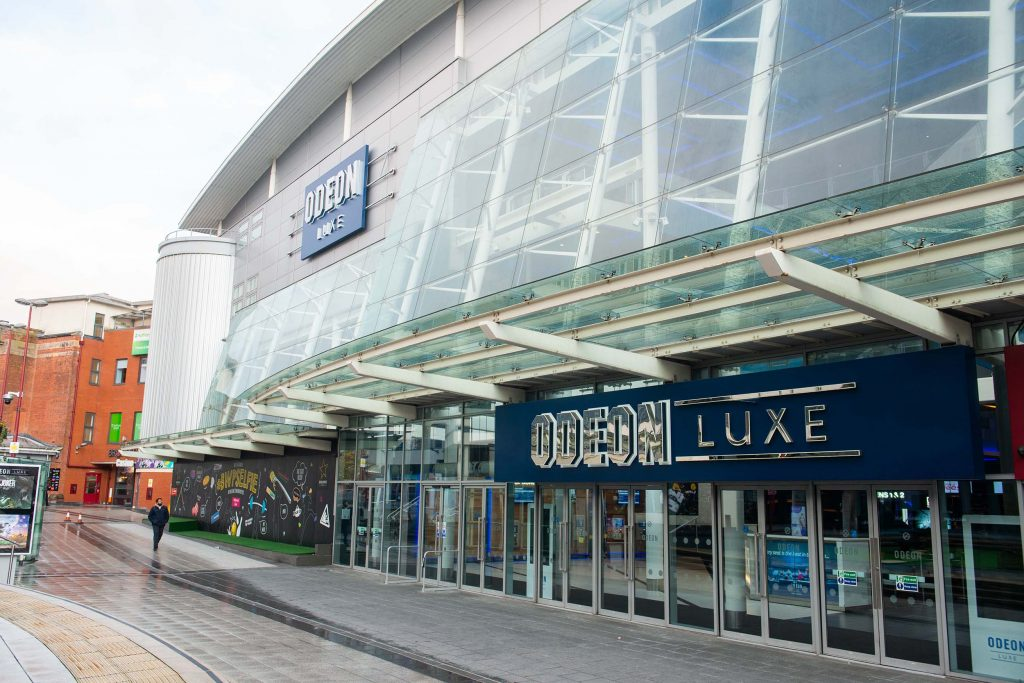 Exterior photograph of Odeon Luxe Birmingham