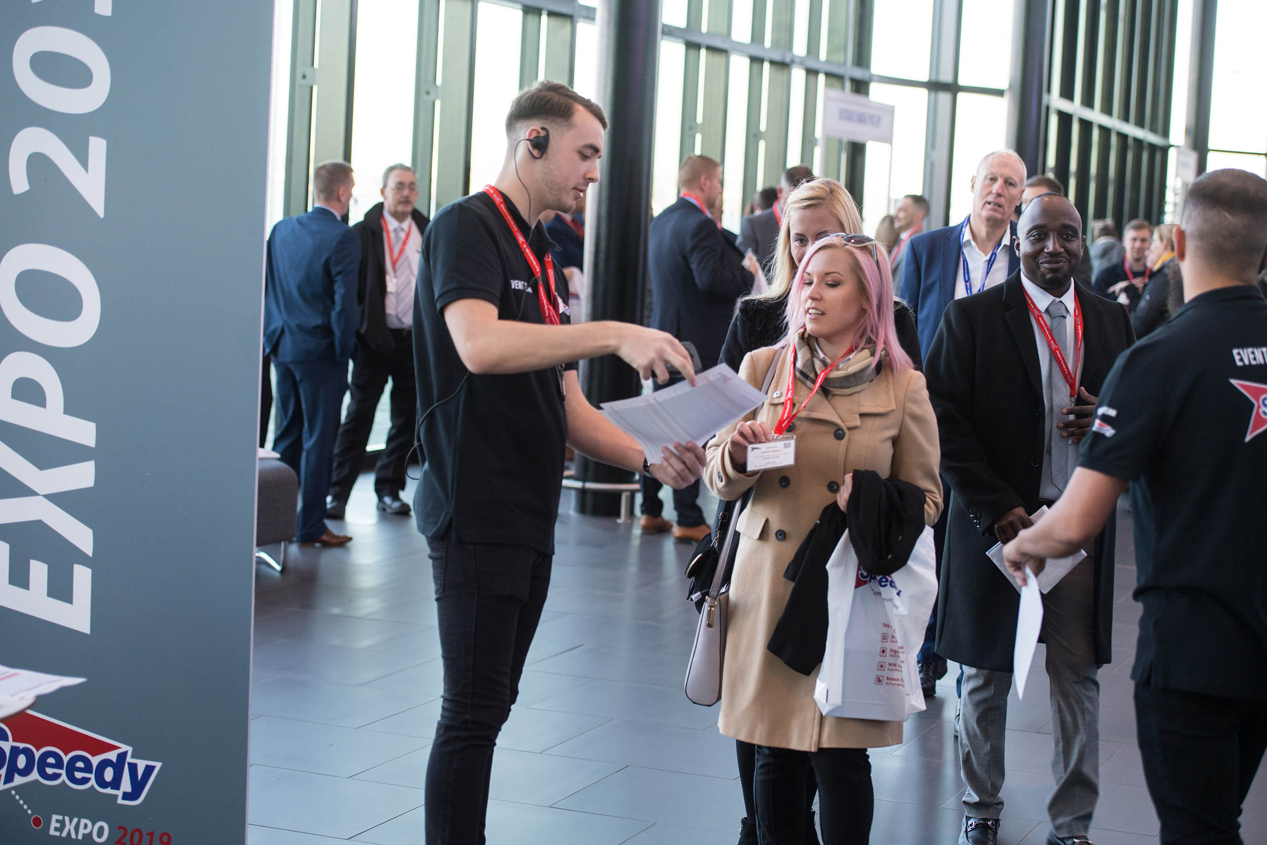 Speedy Services Expo Conference at At ACC Convention Centre Liverpool Manchester Photographer conference photography