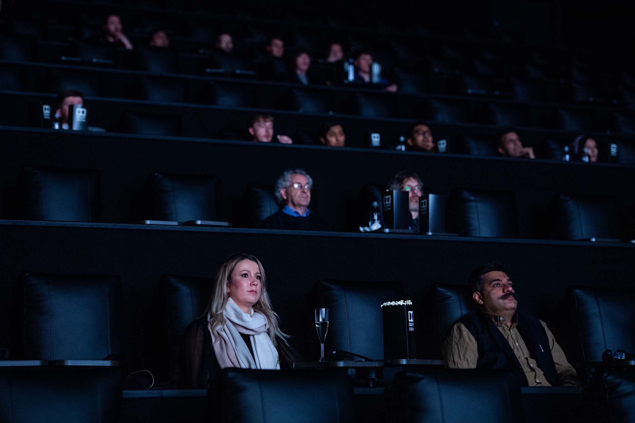 Photograph of Dolby Cinema at Odeon Luxe Birmingham UK Cinema photography by Manchester Photographer