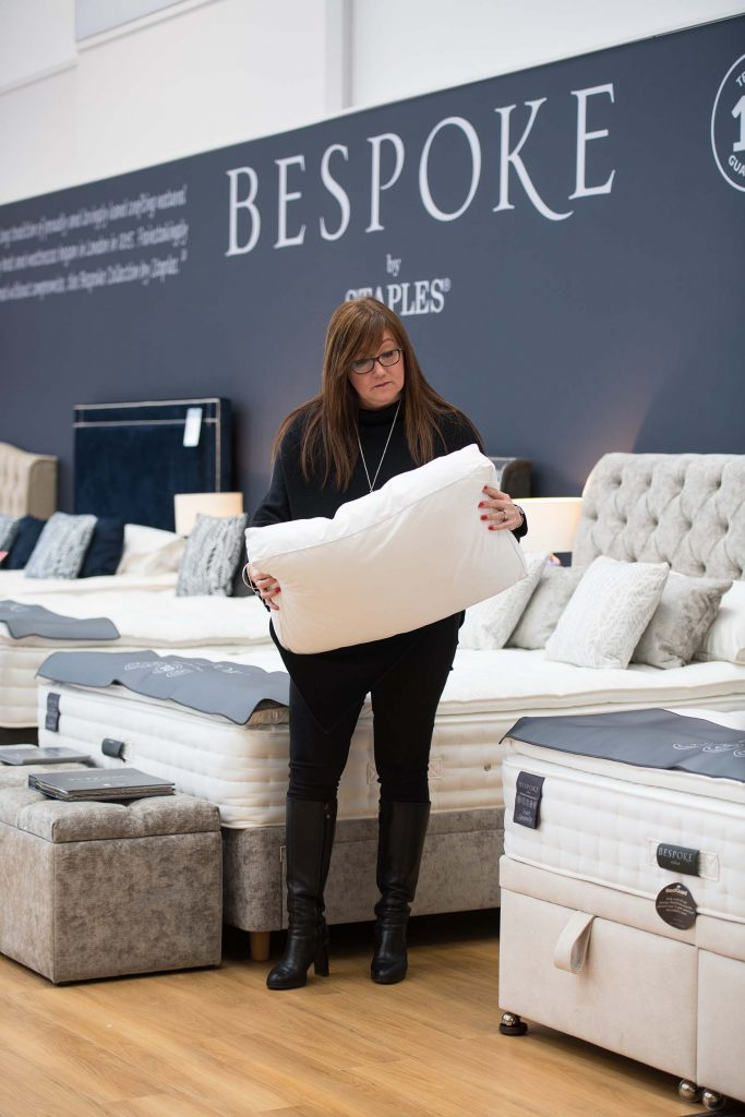 Bespoke beds at Harveys Furniture